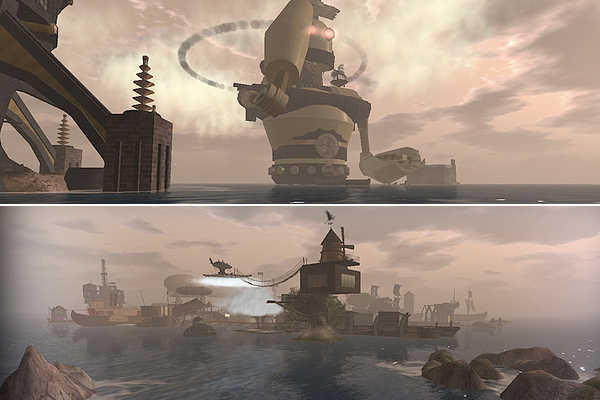 Steampunk Vistas