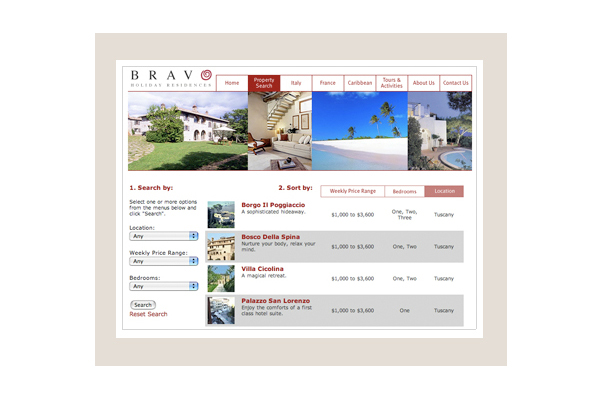 Bravo Property Search