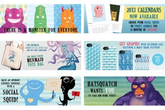 Mako Shark Homepage Banners