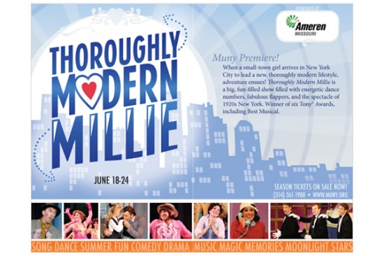 Thoroughly Modern Millie (Brochure)
