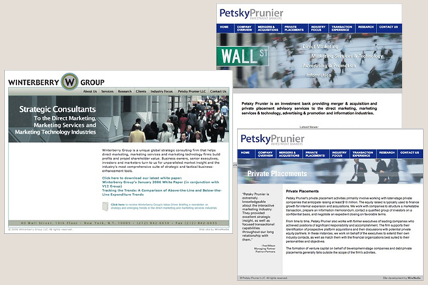 Winterberry Group & Petsky Prunier Sites