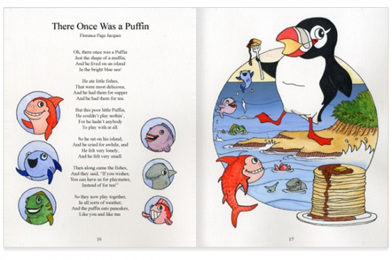 There Once Was A Puffin (Final Spread)