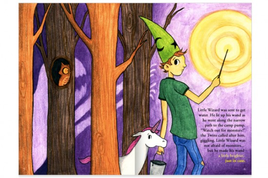 Little Wizard (Full Spread)