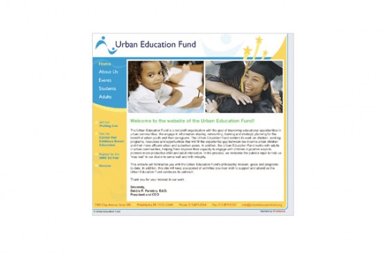 Urban Education Fund Redesign